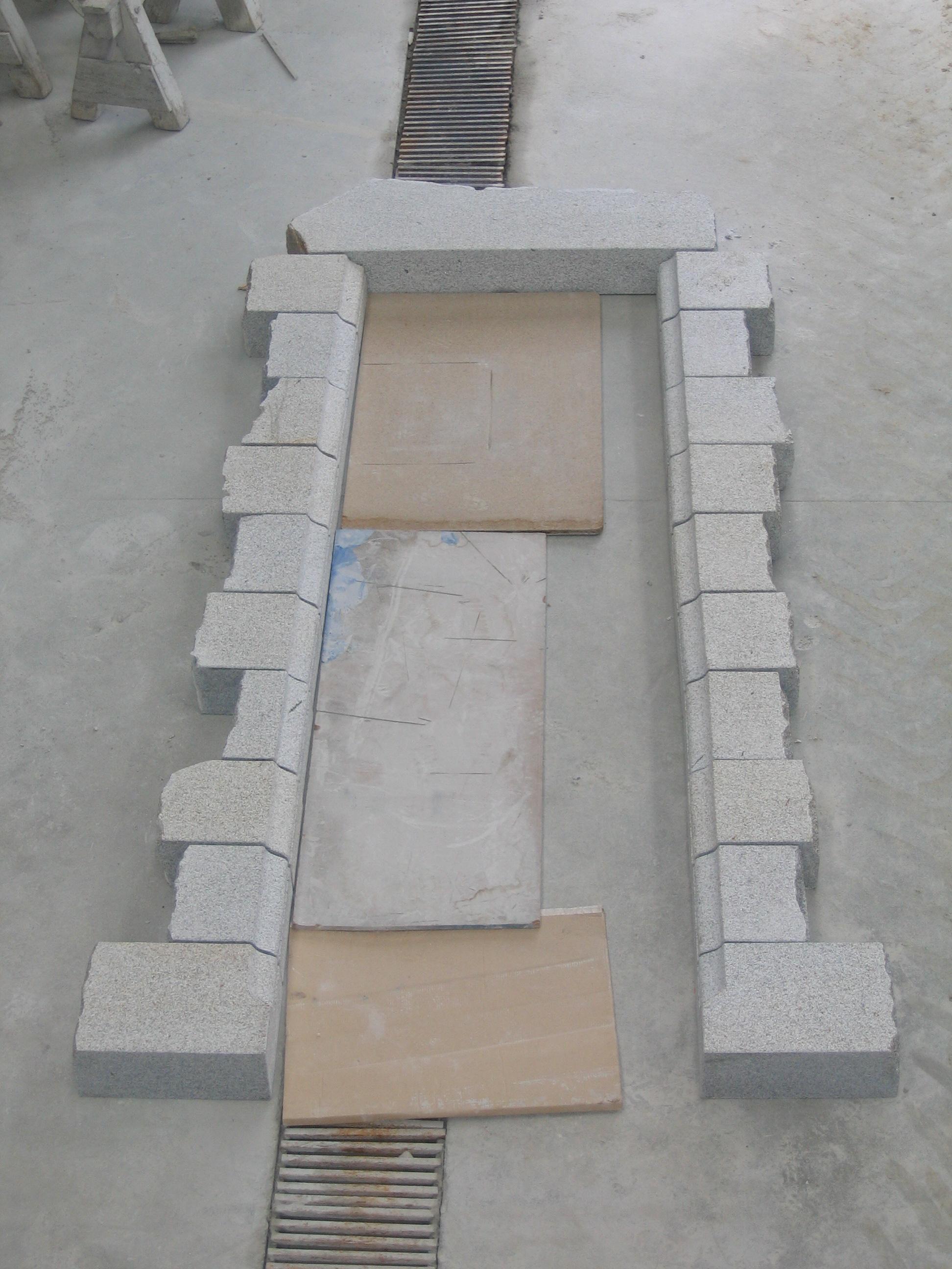 entourage de porte en pierre maison design